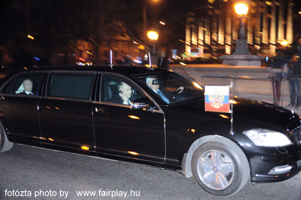 Putin President of Russian Federation